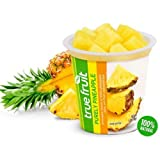 Sundia True Fruit Purely Pineapple with Lid, 7 Ounce - 12 per case.