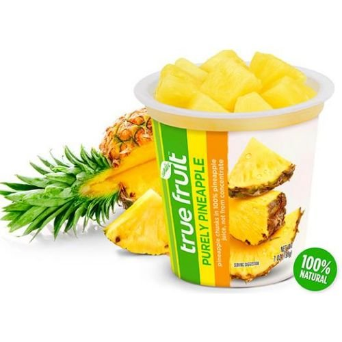 Sundia True Fruit Purely Pineapple with Lid, 7 Ounce - 12 per case. by Sundia