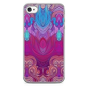 Hairs iPhone 4s Tranparent Edge Case - Design 13