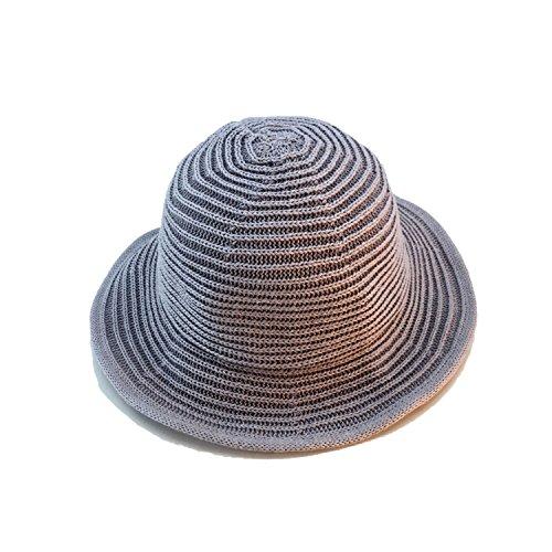 (Korean Version of The Hat Ladies Casual Fisherman Hat Summer Folding Fashion Sun Hat Holiday)