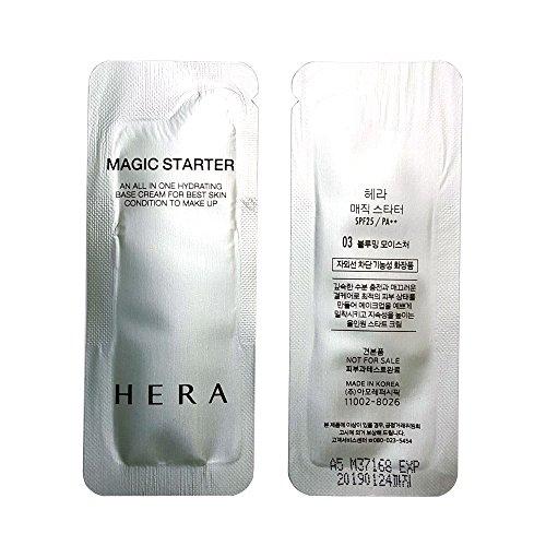 HERA Magic Starter No.3 Blooming Moisture 1ml x 100pcs (100ml) Sample AMORE (Gift Ginseng Serum 5ml x 1pcs)
