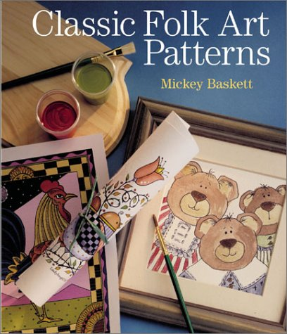 Decorative Painter's Pattern Book: Over 500 Designs for Paper, Glass, Wood, Walls and Needlework