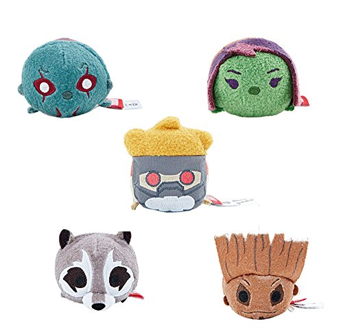 3 1/2'' Mini ''Tsum Tsum'' Plush 5 pcs/set Guardians of the Galaxy