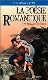 FAVRE/POESIE ROMANT.ETL (Ancienne Edition) par Favre