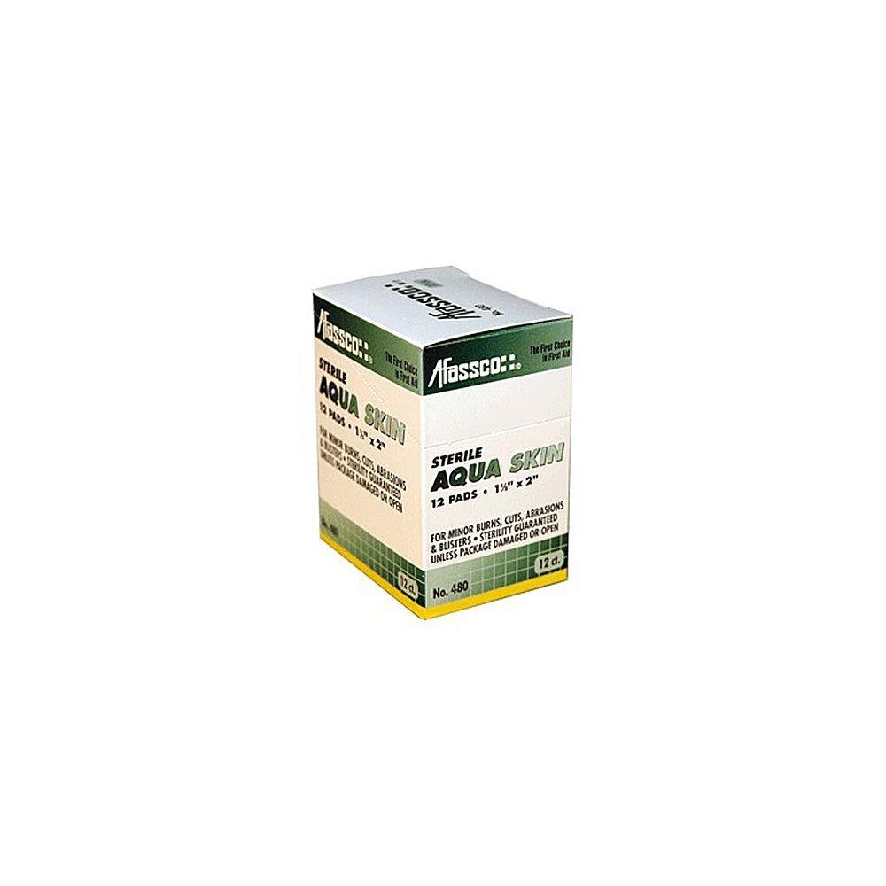 Afassco Aqua Skin Sterile Hydrogel Burn & Wound Pads