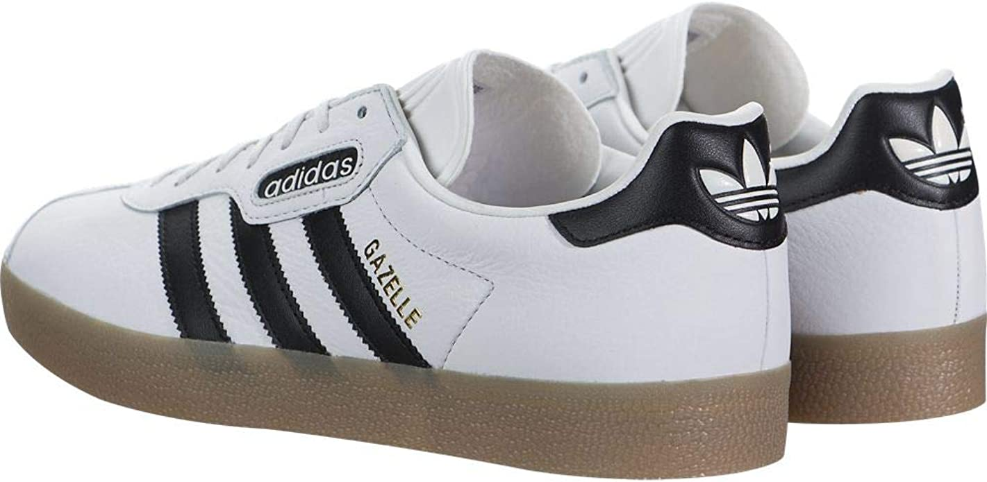adidasBB5243 Gazelle Super Herren, (Vintage WhiteCore