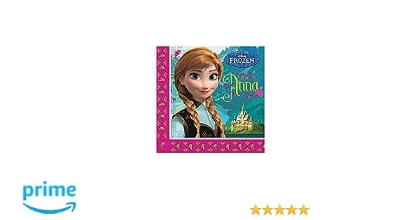 Disney El reino del hielo Chicas Paper napkins - fucsia