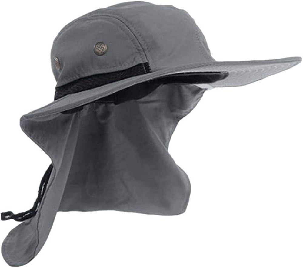LOPILY Sombrero de Pescador Gorra de montañismo Suave Transpirable ...