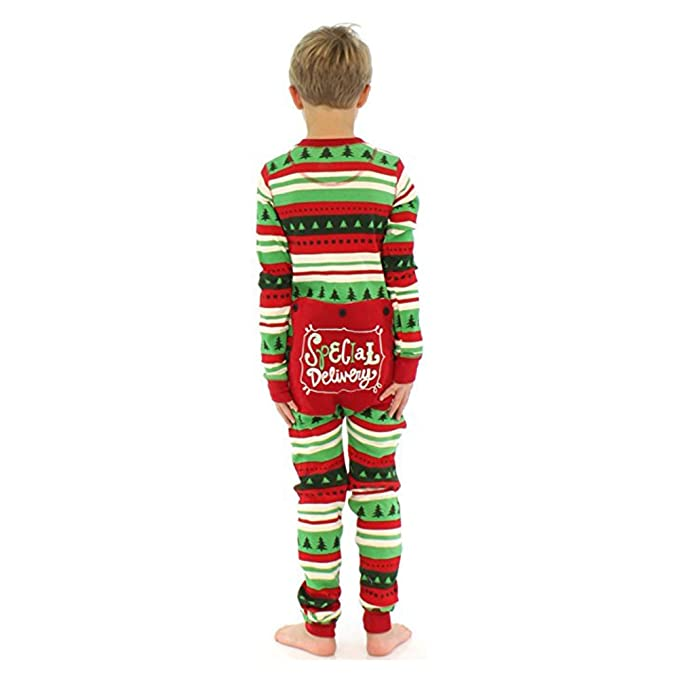 MEIHAOWEI Familia de Navidad Set pijama mono-pieza pijamas Choice 13