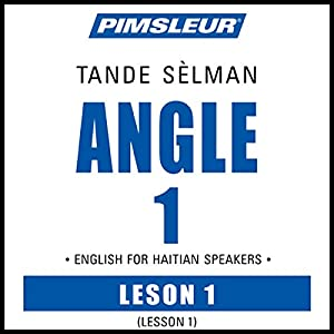 ESL Haitian Phase 1, Unit 01 Audiobook