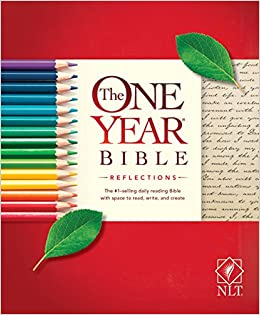 82b84c4a31d7 The One Year Bible Reflections NLT (Softcover)  Tyndale  9781496416797   Amazon.com  Books