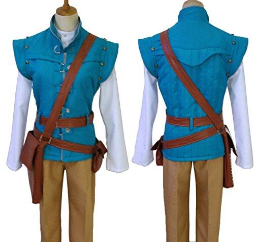makura Men's 2709Disney Tangled Flynn Rider Costume Cosplay (L)