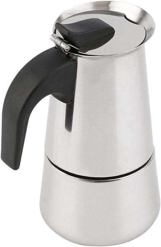 SKYYKS 2/4/6-taza de percolador Estufa cafetera superior Moka Espresso Latte Olla inoxidable Ventas calientes: Amazon.es: Hogar