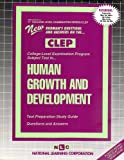 Human Growth and Development, Rudman, Jack, 0837353173
