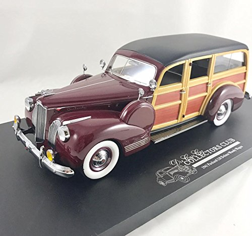 1941 Packard Woody Wagon Rare Paint Sample in Maroon in 1:24 (1941 Packard Wagon)