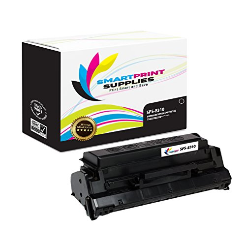 - Smart Print Supplies Compatible 13T0101 Black Toner Cartridge Replacement for Lexmark Optra E310 E312 Printers (6,000 Pages)