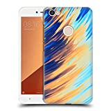 Official Andi Greyscale Two Sides of One Extreme Abstract Marbling Hard Back Case Compatible for Xiaomi Redmi Y1 / Y1 Lite