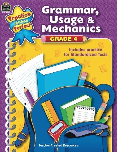 Top grammar usage and mechanics grade 4