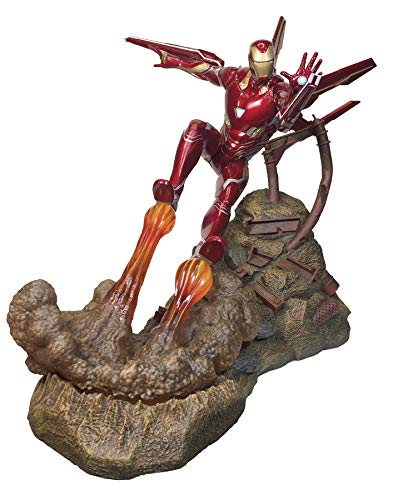 DIAMOND SELECT TOYS SEP182340 Marvel Premier Collection: Avengers Infinity War: Iron Man MK50 Resin Statue
