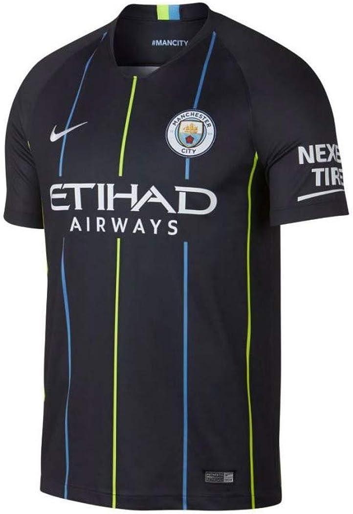 Nike 2018-2019 Man City Away Football Soccer T-Shirt Jersey