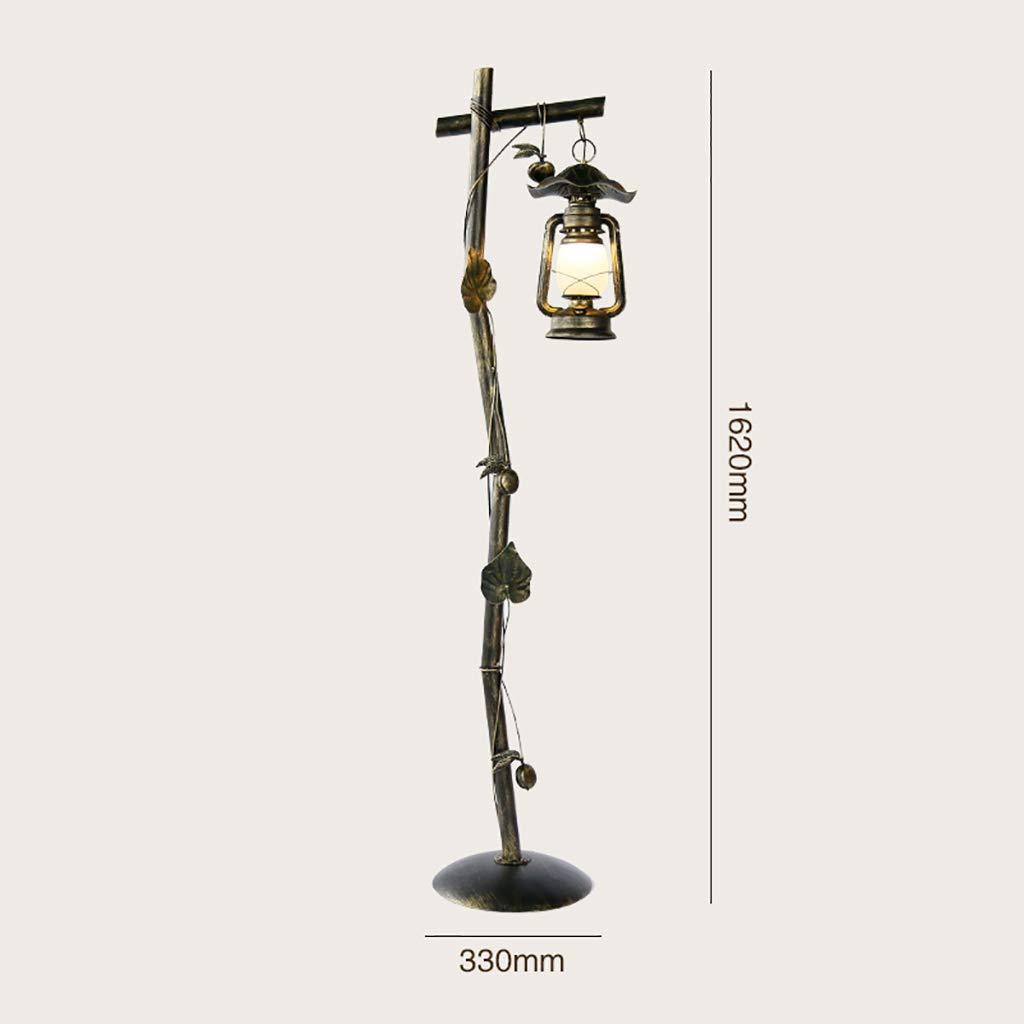 Lámpara de pie, lámpara de Piso Retra Moderna Creativa de la ...