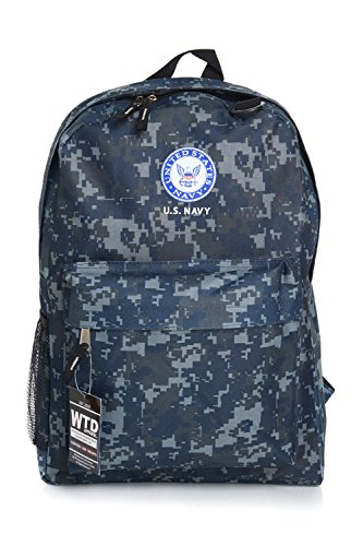 Air Force Backpacks - U.S. Navy Official Licensed Camouflage Backpack