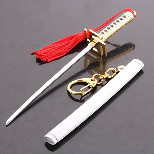 Dailinming accessories Anime cosplay Costume toy water knife buckle pendant Key ring keychain white YWSS-438