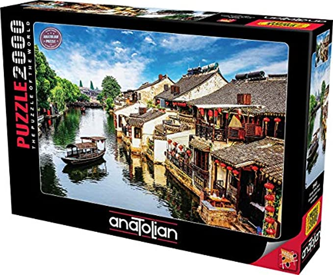 Anatolian Puzzle - Xitang Ancient Town, 2000 Piece Jigsaw Puzzle
