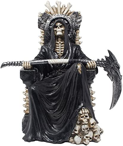 WINOMO 2pcs Sarg Deko Schwarz Aprilscherz Geschenk Gothic Sarg Statue Lustige Streich Requisiten Spukhaus Tisch Ornamente f/ür Kinder Erwachsene Party Favors Gift