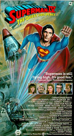 Movie: Superman IV - The Quest for Peace with Christopher Reeve, Gene Hackman