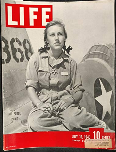 Life Magazine July 19, 1943 - Cover: Air Force Pilot ()