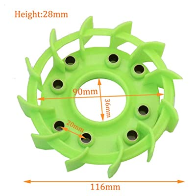 scooter High Performance Cooling Fan for Motorcycle Moped Go Cart Honda DIO 125 GY6 50cc 125cc 150cc 139QMB 152QMI 157QMJ Parts: Sports & Outdoors