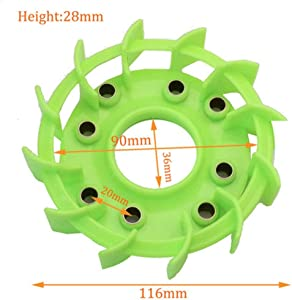 scooter High Performance Cooling Fan for Motorcycle Moped Go Cart Honda DIO 125 GY6 50cc 125cc 150cc 139QMB 152QMI 157QMJ Parts