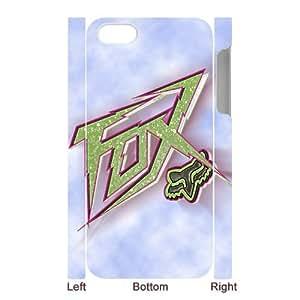 Custom Design Fox Racing Wild Color iPhone 5 5S Full Case