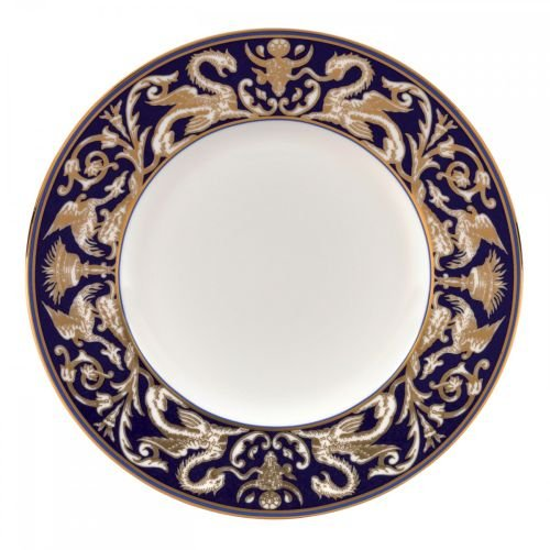 Renaissance Gold Accent Salad Plate Scroll 9