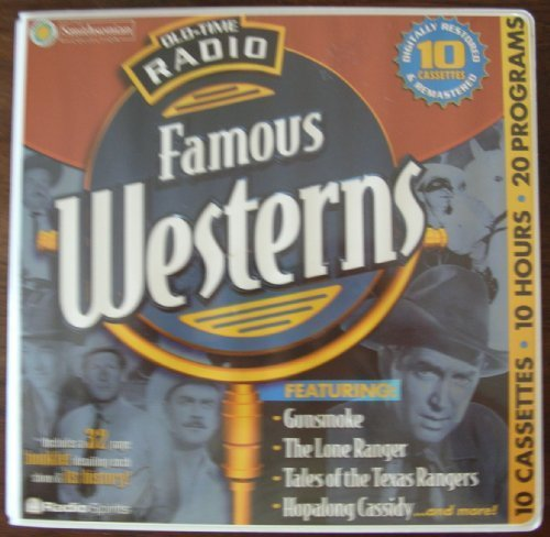 Old-Time Radio Famous Westerns [With 32 Pages] (10-Hour ()
