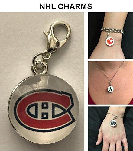 Canadiens Clip - Montreal Canadiens NHL Clip Charm for Bracelets, Necklaces, etc.
