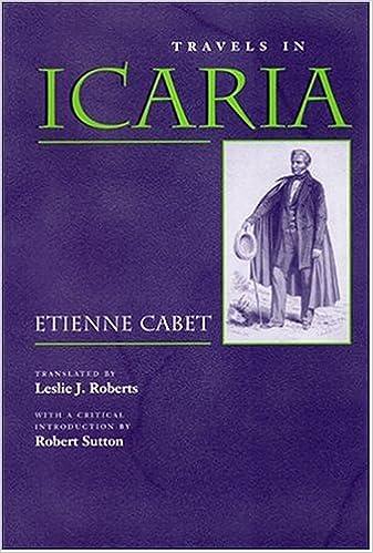 Travels in Icaria (Utopianism and Communitarianism)