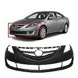 mazda bumper cover - MBI AUTO Primered, Front Bumper Cover Fascia for 2009-2013 Mazda 6 09-13, MA1000222