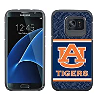 NCAA Auburn Tigers True Grip Football Pebble Grain Feel Samsung Galaxy Alternate S7 Edge Case