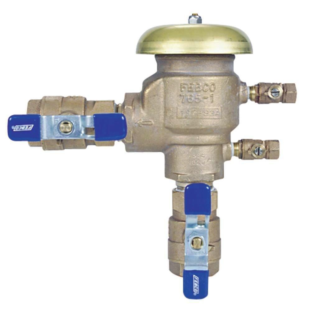 Febco Series 765 3/4 Inch Bronze NPT Pressure Vacuum Breaker