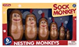 Schylling Sock Monkey Nesting Monkeys