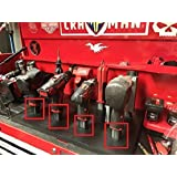 Milwaukee M12 12v Lithium Ion Cordless power tools Stealth Mount hanger holder from battery slot Black by eToolz (2…