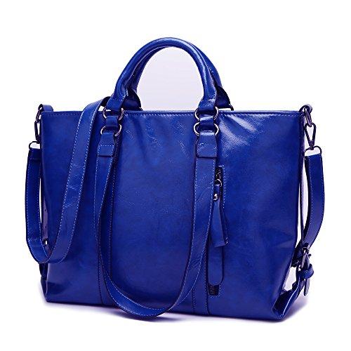 COCIFER Women Top Handle Satchel Handbags Shoulder Bags Top Tote (Handbags Purses Zip Top)