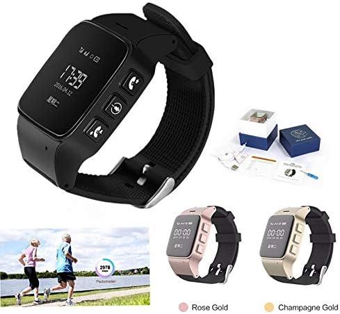 Amazon.com: Smart Watch D99 Elderly Smartwatch GPS WiFi ...