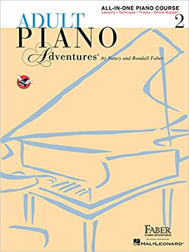 Adult Piano Adventures All-in-One Lesson Book 2: Book/Online