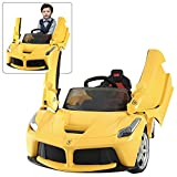 Best BMW Car For Kids With Remotes - Rastar LaFerrari Kids Ride On Car Yellow   Review