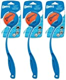 Chuckit! Sport 12M Medium Ball Launcher 3pk