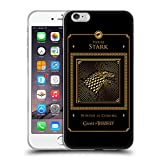 Official HBO Game Of Thrones Stark Border Golden Sigils Soft Gel Case for iPhone 6 Plus / iPhone 6s Plus