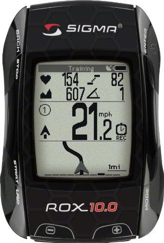 Sigma Sport ROX 10.0 GPS Set, Black (Gps Set)